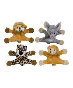 Jungle Buddies Plush Magnet - Set of 12 | zulily