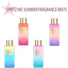 Victoria's Secret Summer Body Mists - Politics of Pretty