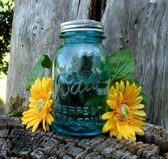 Set of 2 Mason Jar Flower Frog LIDS - Upcycled Diy Flower Arrangers - Wedding Bouquet or Centerpiece, Woodland, Shabby  http://www.etsy.com/shop/creativecorksnmore