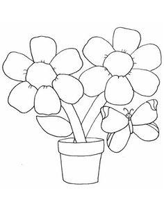 Moldes de flores para EVA ou Feltro