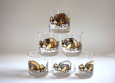 mushroom shot glasses