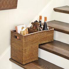 Rattan Step Basket