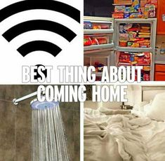 The Satisfying Things About Coming Home