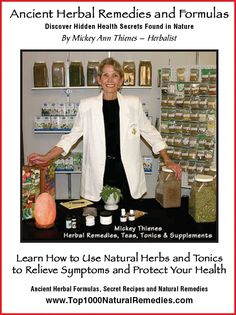 Say No To Drugs, and Yes to all Natural Healing remedies. Grab your free copy of Natural Remedies, courtesy of the Recipe for Success Club [bottom  of this page] http://recipes.simplesite.com referral code MM101