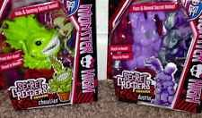 Monster High Secret Creepers Pets Chewlian And Dustin NEW In Hand