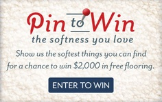 Enter for your chance to win $2,000 in flooring.