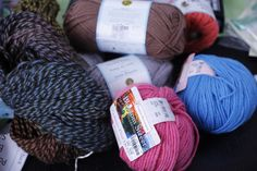 Pick up some yarn at Tuesday Morning for your next knitting or crochet project on-the-go!