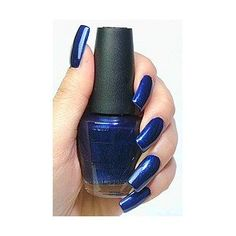 If you are looking for a true, deep blue then this is it. No hit of purple, not indigo, not greenish or greyish. It is BLUE, a perfect jewel tone. I absolutely love it and it's one of my favorite shades.