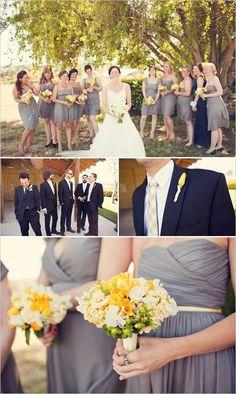 yellow wedding flowers yellow-wedding