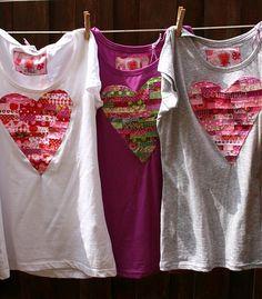 L_L_S / tričko srdiečkové sivé - veľkosť S