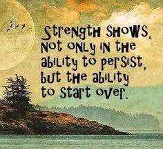strength shows... life, start, strength, wisdom, true, thought, inspir, quot, live