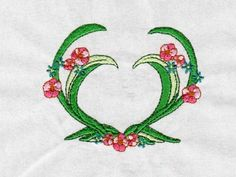Please Repin!  Floral Hearts Machine Embroidery Designs  http://www.designsbysick.com/details/floralhearts