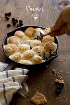 S'mores dip #snackgasm #dessert #smores