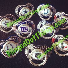 Blinged Out Pacifiers.