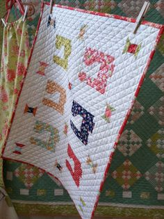 Love those mini's - Sherri McConnell talks about mini quilts today at Moda's Cutting Table.    This is Mini Stitch by Fig Tree & Co using Somerset fabric.