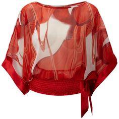 Izabel London Izabel kimono top ❤ liked on Polyvore