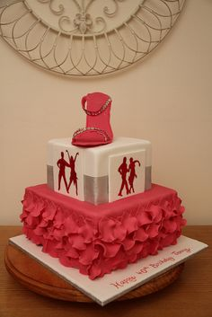 Salsa Dance Cake....interesting....not saying I would want this be interesting none the less
