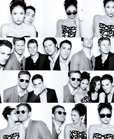 "more images of some of the cast of ""The Vampire Diaries"" hamming it up on a photo shoot....."