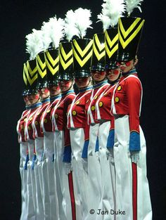 The Parade of Wooden Soldiers ~ Radio City Rockettes. One of the most amazing parts of the entire Christmas spectacular...