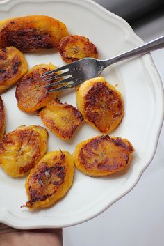 Sweet and Salty pan fried plantain