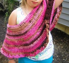 Girls Poncho Pattern