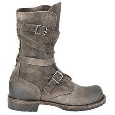 Vintage Shoe Co Jennifer Boots (Grey) - Women's Boots - 6.0 M