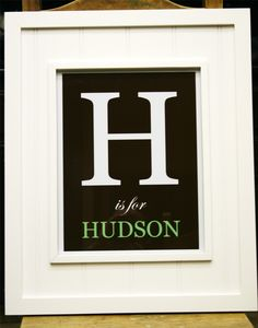 name wall decoration