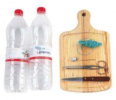 Materiais para fazer artesanato com garrafa PET