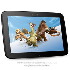 Nexus 10 (32GB) - Google Play  $499