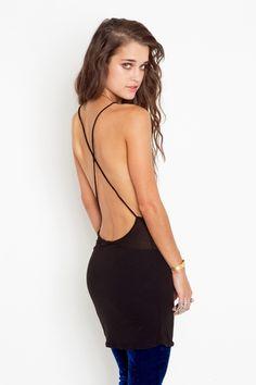 Emelie Dress, backless
