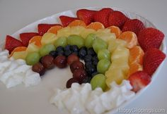 Such a great way to get in your fruits! And it makes a great healthy St. Patrick's Day snack.