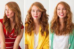Quick hair waves - 3 ways
