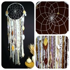 SHIPS 5/1  Eleanor Big White Dream Catcher FREE by CosmicAmerican, $115.00