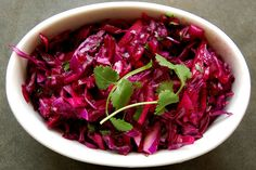 Red Cabbage, Cilantro, Lime & Honey Slaw by Eve Fox, Garden of Eating blog copyright 2011 by Eve Fox, via Flickr