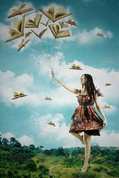 Fly away with a good book