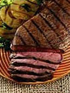 Polynesian Marinade — A simple marinade of pineapple juice, steak sauce and ground ginger adds terrific tropical flavor to steak, chicken and fish.