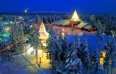 Rovaniemi, Finland - visited in 1995