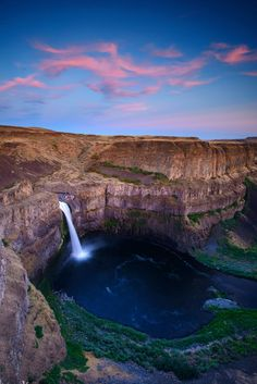 Palouse Falls in Washington