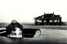 """Those eyes!  """"Christy in New Orleans"""" (British Vogue, June 1990 – Photographed by Arthur Elgort)"""
