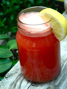 Makes a pitcher.        4C cubed watermelon      2C coconut water      juice of 2 lemons      1T stevia (if desired)