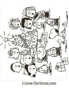 Charlie Brown Christmas Embroidery