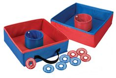 Amazon.com: Regent-Halex #24209 Tailgate Cloth Covered Washer Toss Game with Eight Washers and Target with Convenient Carry Handle Box: Sports & Outdoors handl box