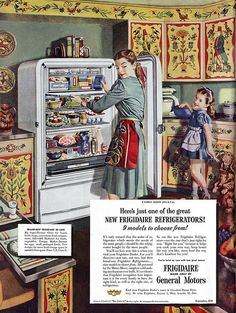 "1948: ""Pennsylvania Dutch"" kitchen"