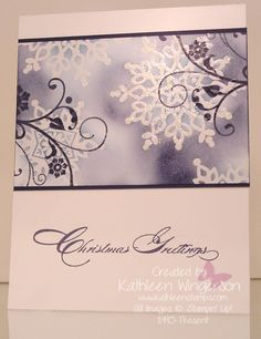 Festive Flurry, Flowering Flourishes and Special Season stamp sets