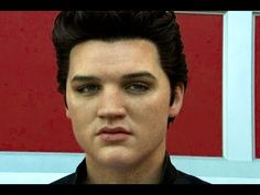 Elvis Presely Unveiled at Madam Tussaud's LA Exhibit