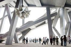 Peking, China, Olympic stadium,  Architects: Jacques Herzog and Philippe de Meuron.