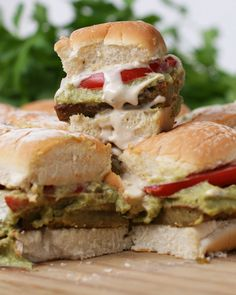 Falafel Sliders Reci