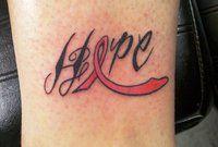 Breast-cancer-ribbon-tattoo  #