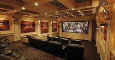 projector, theater collect, large home theaters, dream room, home theater rooms, homes