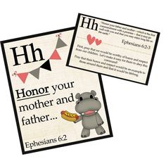 Children A-Z Prayer Cards {cute to display and includes prayer prompts for parents}
